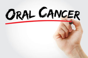 Oral cancer sign